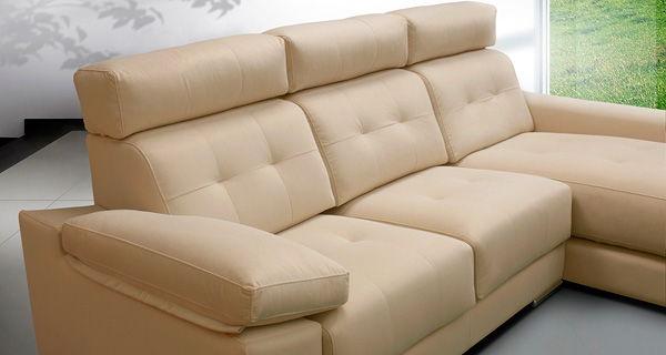 Ejemplo de sofás modulares