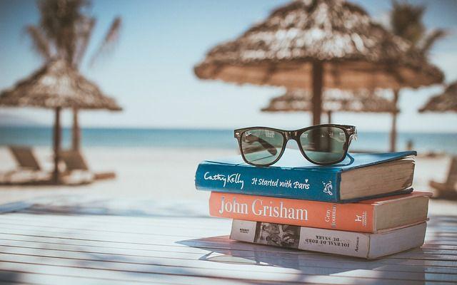 Libros playa descanso relax