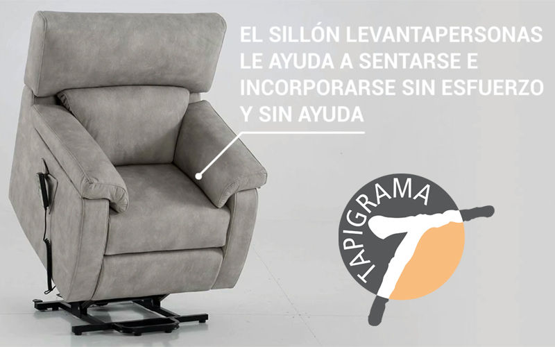Sillon levantapersonas popular en geriatricos