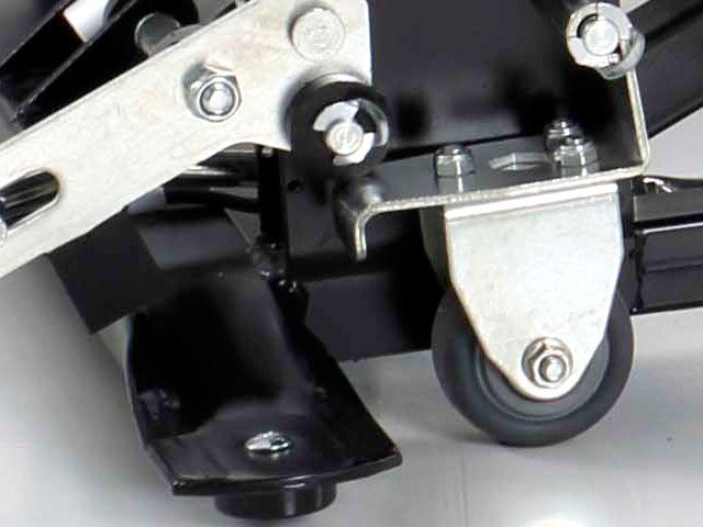 Las ruedas del sillón levantapersonas