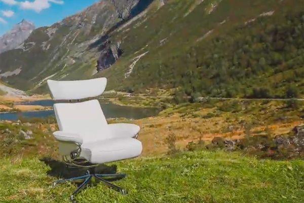 Sillón relax Stresless desde el fiordo