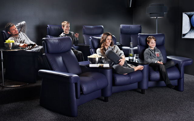 Sillones relax asiento home cinema