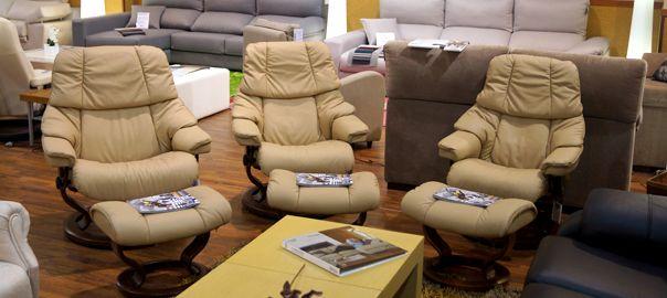 Sillones relax Stressless en tienda