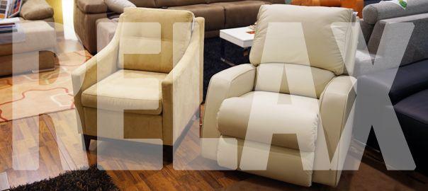 Modelos diferentes de sillones relax