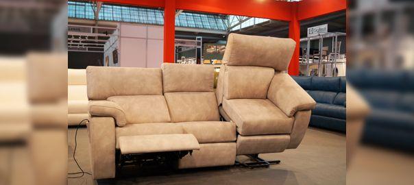 Sofá modular con sillón levantapersonas