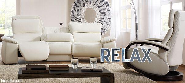 Los sofás relax son los preferidos por los usuarios