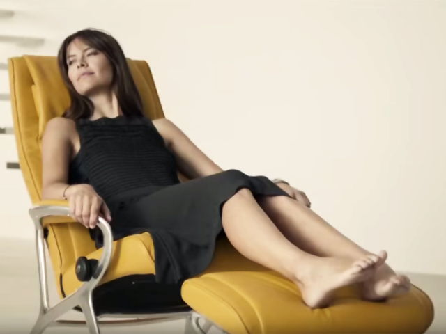 Usando sillones relax de Tapigrama